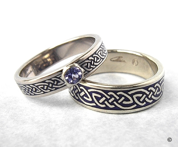 comfort custom and in fit wedding for mens knot men rings celtic platinum women gold band ring